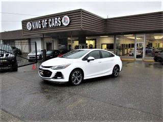 Used 2019 Chevrolet Cruze LT - RS PACKAGE for sale in Langley, BC