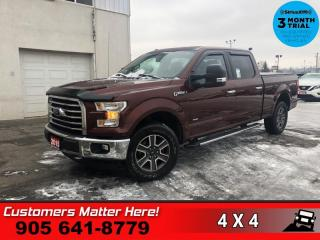 Used 2015 Ford F-150 XLT  XTR CAM CHROMES TONNEAU ADJ-PEDALS for sale in St. Catharines, ON