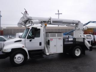 Used 2003 International 4300 Diesel Pole Boom Truck with Air Brakes for sale in Burnaby, BC