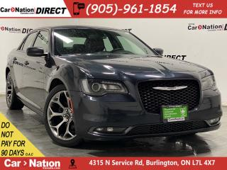 Used 2018 Chrysler 300 300S| LEATHER| APPLE CARPLAY & ANDROID AUTO| for sale in Burlington, ON