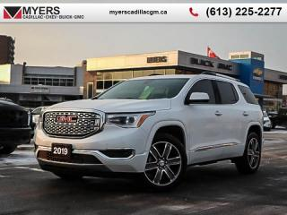 Used 2019 GMC Acadia Denali  DENALI, AWD, REAR VIEW CAM, SAFETY PACKAGE,REMOTE START NAVI for sale in Ottawa, ON