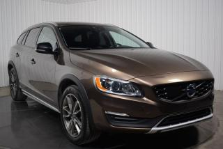 Used 2017 Volvo V60 CROSS COUNTRY PREMIER AWD CUIR TOIT MAGS for sale in St-Hubert, QC