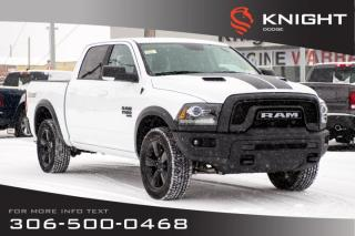 New 2019 RAM 1500 Classic Warlock Crew Cab V6 | Heated Seats and Steering Wheel for sale in Swift Current, SK