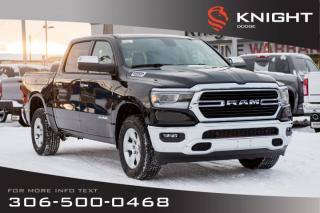 New 2020 RAM 1500 Big Horn Crew Cab | Heated Seats and Steering Wheel | RamBox for sale in Swift Current, SK
