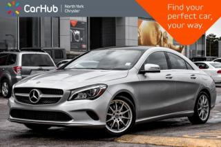 Used 2018 Mercedes-Benz CLA-Class 250|Navigation|Sunroof|Keyless_Entry|Heatd_Frnt_Seats|Bluetooth| for sale in Thornhill, ON