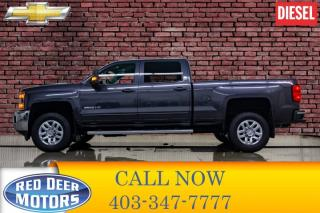 Used 2016 Chevrolet Silverado 2500 HD 4x4 Crew Cab LT Diesel Leather BCam for sale in Red Deer, AB