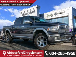 Used 2017 RAM 1500 Laramie *ACCIDENT FREE* *LOCALLY DRIVEN* for sale in Abbotsford, BC