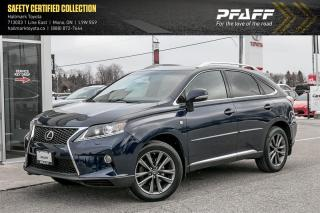 Used 2013 Lexus RX 350 F-Sport for sale in Orangeville, ON