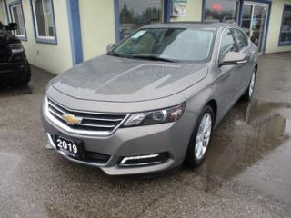 Used 2019 Chevrolet Impala LOADED LT EDITION 5 PASSENGER 3.6L - V6.. LEATHER.. HEATED SEATS.. BACK-UP CAMERA.. BLUETOOTH SYSTEM.. POWER SUNROOF.. for sale in Bradford, ON