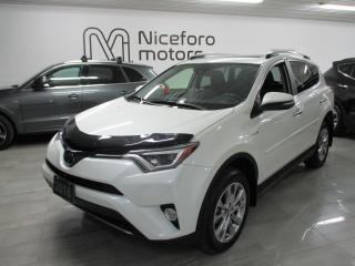 Used 2018 Toyota RAV4 Hybrid Limited - NAVI, LEATHER, SUNROOF - for sale in Oakville, ON