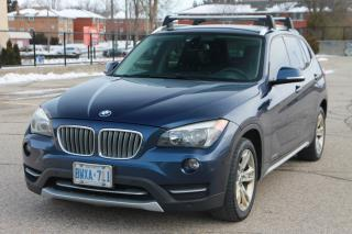 Used 2013 BMW X1 xDrive28i Navigation | Leather | MoonRoof for sale in Waterloo, ON