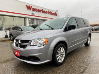 Used 2014 Dodge Grand Caravan SE/SXT Accident Free, One Owner Grand Caravan! for sale in Waterloo, ON