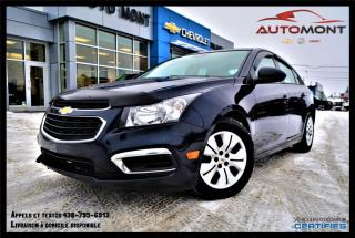 Used 2015 Chevrolet Cruze LS + 1.8L + A/C + BLUETOOTH for sale in Mont-Laurier, QC