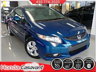 Used 2013 Honda Civic LX CPE AUTO for sale in St-Hyacinthe, QC