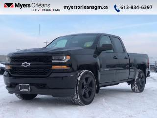 Used 2017 Chevrolet Silverado 1500 Custom  INCLUDES WINTER TIRES! for sale in Orleans, ON