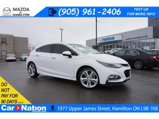 Used 2018 Chevrolet Cruze Premier Auto RS | PREMIER | LEATHER | SUNROOF | HATCHBACK for sale in Hamilton, ON