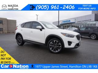 Used 2016 Mazda CX-5 GT | LEATHER | SUNROOF | NAV | BOSE | REAR CAM for sale in Hamilton, ON