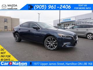 Used 2016 Mazda MAZDA6 GT | LEATHER | SUNROOF | NAV | REAR CAM | HTD SEAT for sale in Hamilton, ON