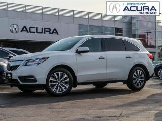 Used 2016 Acura MDX Technology Package TECH | 1OWNER | NOACCIDENTS | DVD | NAVI | AWD | for sale in Burlington, ON