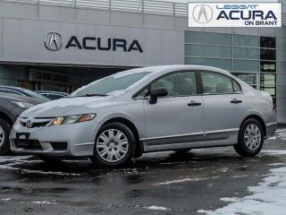 Used 2010 Honda Civic 5SPEED | DX | CLOTH | SAVE$$ | FWD | NOACCIDENTS | for sale in Burlington, ON