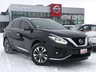 Used 2015 Nissan Murano SL LEATHER, HEATED SEATS, REVERSE CAMERA for sale in Midland, ON