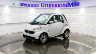 Used 2013 Smart fortwo PURE + GARANTIE + CUIR + A/C !! for sale in Drummondville, QC