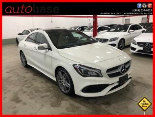 Used 2017 Mercedes-Benz CLA-Class CLA250 4MATIC PREMIUM PLUS SPORT PANORAMIC CLEAN CARFAX! for sale in Vaughan, ON
