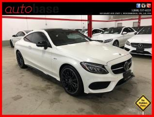 Used 2018 Mercedes-Benz C-Class C43 AMG 4MATIC AMG DRIVERS AMG NIGHT EDITION DISTRONIC PREMIUM LED for sale in Vaughan, ON