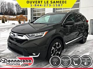Used 2017 Honda CR-V TOURING *GARANTIE HONDA 2022/120 000 KM* for sale in Donnacona, QC