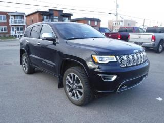 Used 2017 Jeep Grand Cherokee 4 RM 4 portes OVERLAND, Cruise adaptatif for sale in St-Hyacinthe, QC