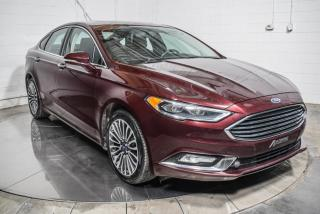Used 2017 Ford Fusion SE AWD CUIR TOIT MAGS 18 NAV CAMERA DE R for sale in St-Constant, QC