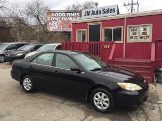 Used 2003 Toyota Camry LE for sale in Toronto, ON