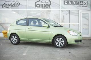 Used 2009 Hyundai Accent L HAYON 3 PORTES ***JAMAIS ACCIDENTE*** for sale in Québec, QC