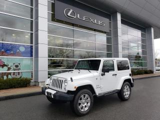 Used 2016 Jeep Wrangler Sahara for sale in Richmond, BC