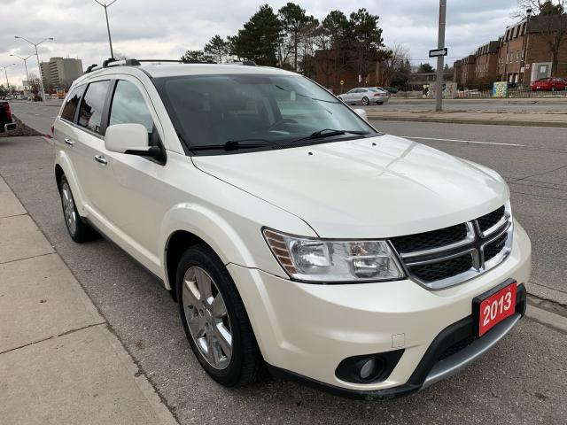 2013 Dodge Journey ALLOY-LEATHER-BK UP CAM-NAVI-PWR SEATS-BLUETOOTH