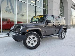 Used 2014 Jeep Wrangler SAHARA CUIR A/C 4X4 AUTO 97$/SEM for sale in Ste-Agathe-des-Monts, QC