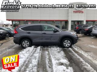 Used 2015 Honda CR-V AWD 5dr LX for sale in Steinbach, MB