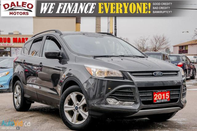 2015 Ford Escape SE | 4WD | HEATED SEATS | BACKUP CAM | BLUETOOTH |