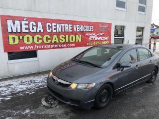 Used 2009 Honda Civic SPORT DISPONIBLE DU 10 AU 17 DECEMBRE for sale in Laval, QC