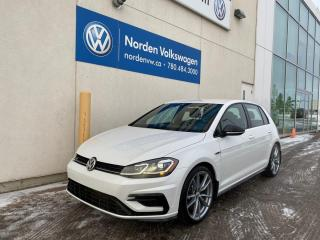New 2019 Volkswagen Golf R 4dr AWD 4MOTION Hatchback for sale in Edmonton, AB