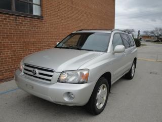 Used 2006 Toyota Highlander 7-Passenger for sale in Oakville, ON
