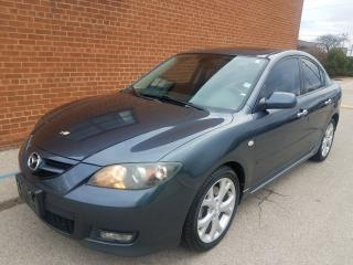 Used 2008 Mazda MAZDA3 S-leather-SUNROOF- for sale in Oakville, ON