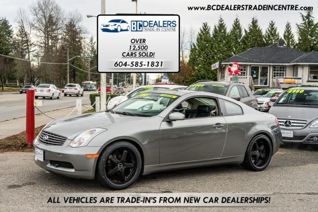 """2003 Infiniti G35 Coupe, 130k, Leather, Sunroof, 20"""" AXIS Wheels!"""