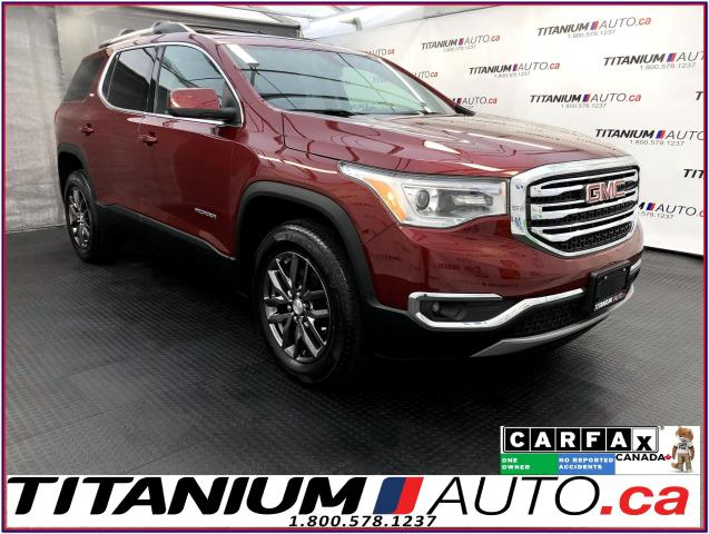 2017 GMC Acadia SLT+AWD+Leather+Pano Roof+Camera+Apple Play+Androi