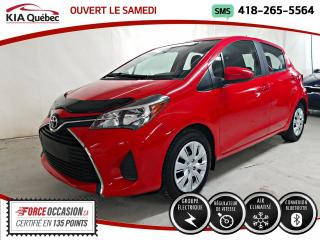Used 2017 Toyota Yaris LE* A/C* GARANTIE PROLONGEE* AUDIO AU VO for sale in Québec, QC