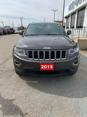 Used 2015 Jeep Grand Cherokee Laredo for sale in Brantford, ON