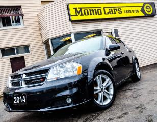 Used 2014 Dodge Avenger HEATED SEATS | SXT | LOW MILEAGE for sale in St. Catharines, ON