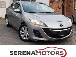 Used 2010 Mazda MAZDA3 GS | MANUAL | BLUETOOTH | NO ACCIDENTS for sale in Mississauga, ON