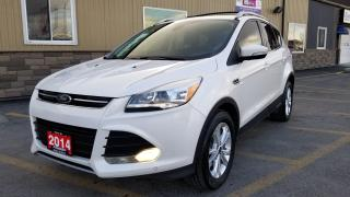 Used 2014 Ford Escape Titanium-AWD-SAVE UP TO $2000 LTD TIME ONLY for sale in Tilbury, ON