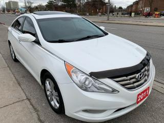 Used 2011 Hyundai Sonata ALLOYS -LEATHER- PWR SEATS-SUNROOF-LIMITED for sale in Scarborough, ON